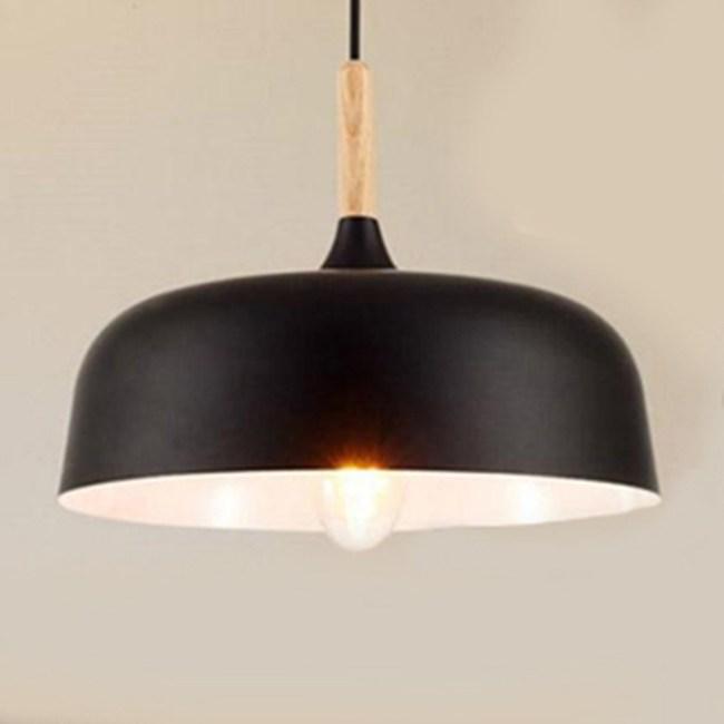 HONEY COMB 北歐風經典木質調單吊燈 雙色款 黑色 TA8385