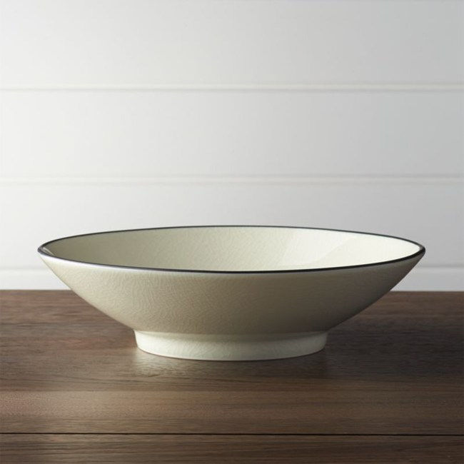 Crate&Barrel Kita 湯碗/沙拉碗 24cm