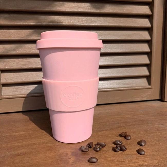 Ecoffee Cup|環保隨行杯14oz(撫子粉)