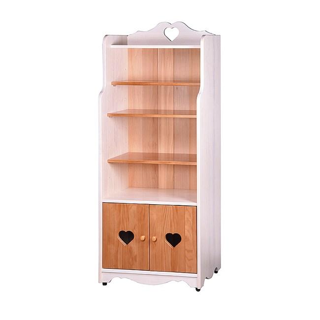 【YFS】愛羅伊全實木白色置物櫃-64x40x162cm