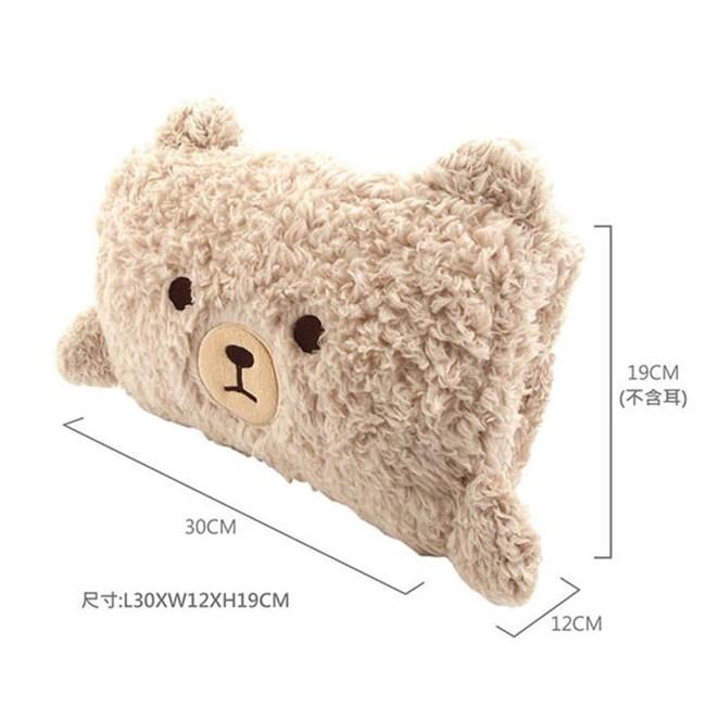 英國熊 捲捲抱枕 067TA-D19U