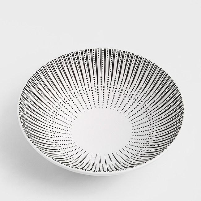 WAGA 新古典 劍點穿心20cm陶瓷圓碗