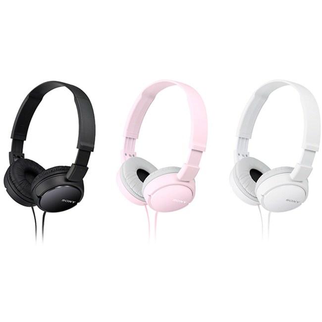 【SONY】耳罩式立體聲耳機 MDR-ZX110AP (粉)