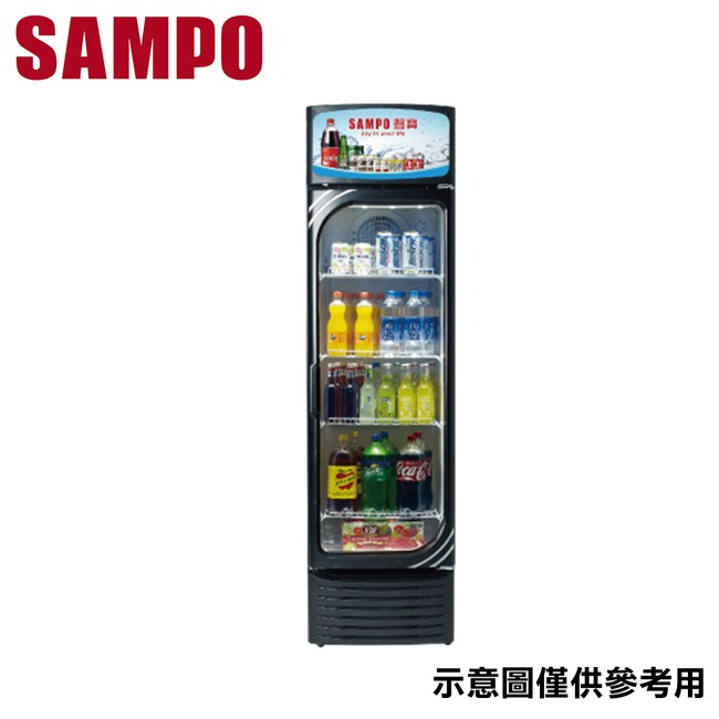 【SAMPO聲寶】282L 冷藏箱 KR-UC290
