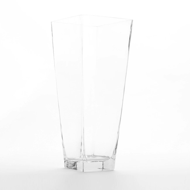 Tess 特斯四角錐型玻璃花器 40cm