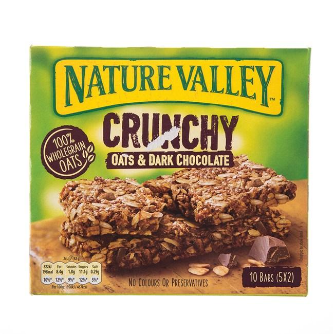 天然谷纖穀派黑巧克力燕麥210G