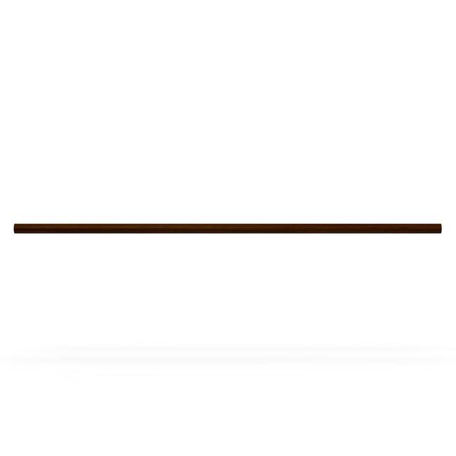特力屋 實木窗簾桿 直徑28mm 櫻桃木色 5呎
