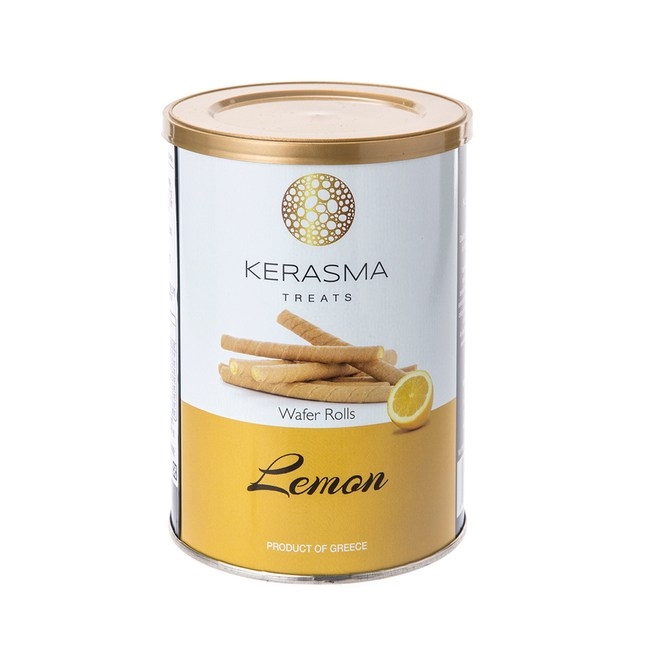 希臘享樂檸檬捲心酥 400g