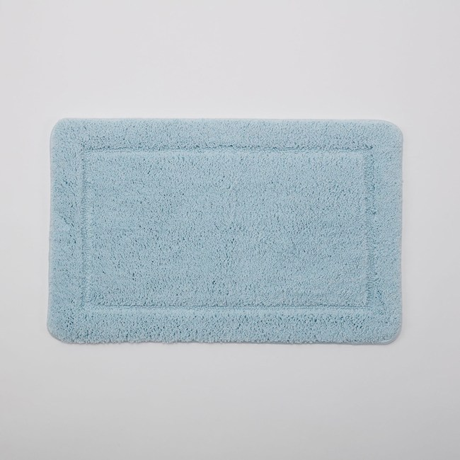 HOLA 蓓莉超纖柔軟踏墊45x70柔藍