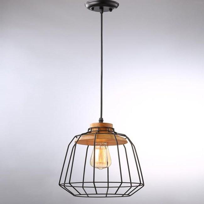 HONEY COMB  工業風原木單吊燈TA4010D