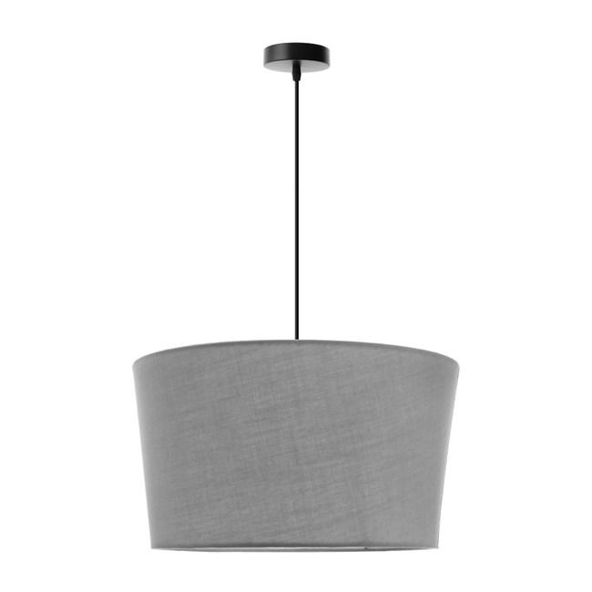 (組)特力屋萊特古銅吊燈灰色燈罩-45cm