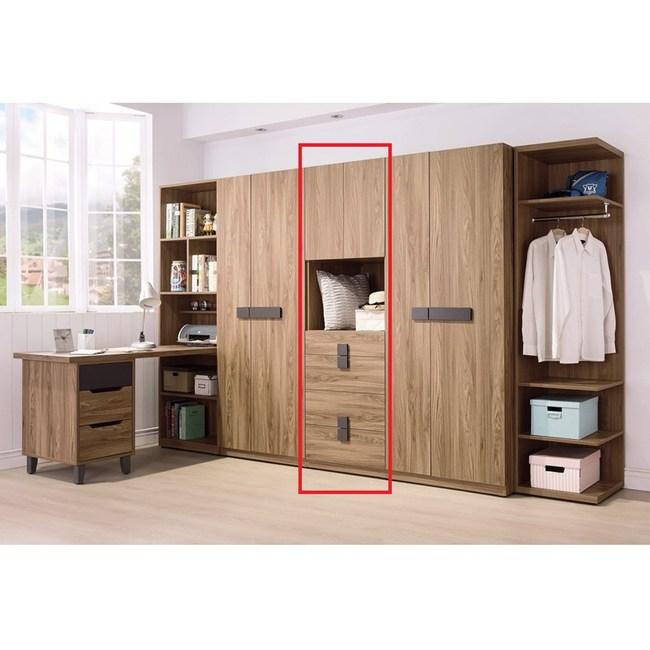 佛羅倫斯2尺四抽衣櫥