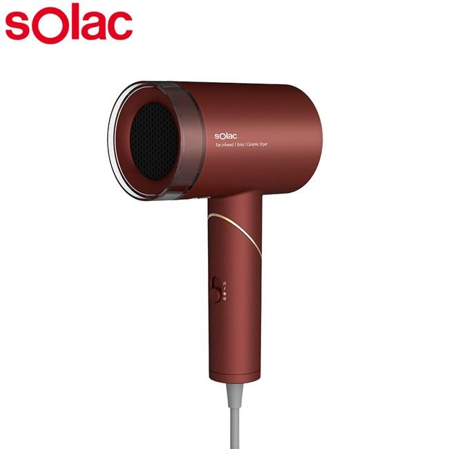 Solac負離子生物陶瓷吹風機(紅色) HCL-501R