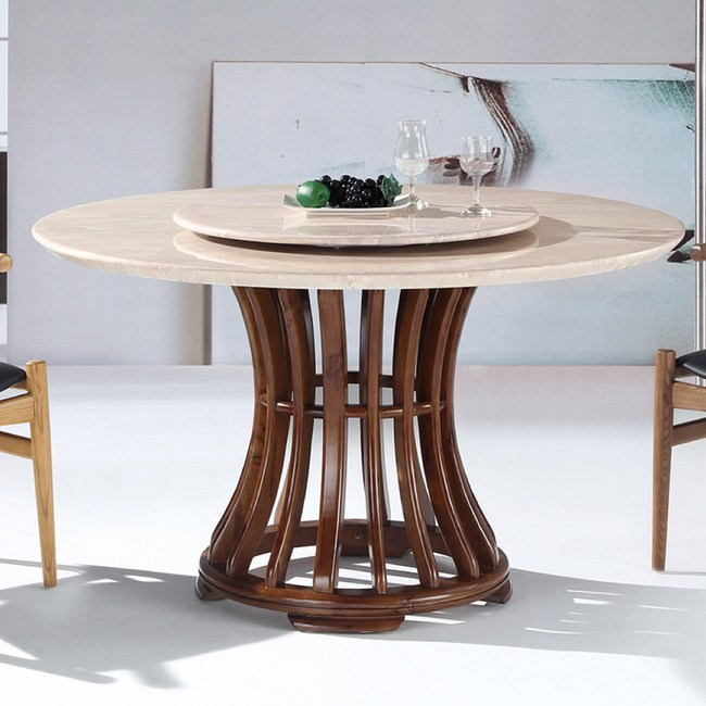 【YFS】西格莉5尺圓桌-130x130x77cm