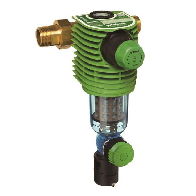 【德國格溫拜克Grunbeck】前置雜質反洗過濾器(BOXER RD)H298xW100x