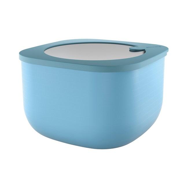 義大利Guzzini 耐熱高身保鮮盒大-藍2800c.c