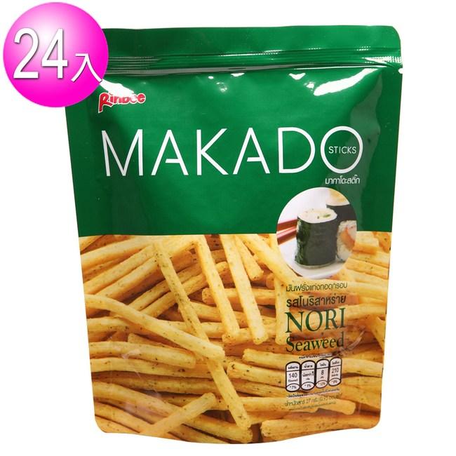 【MAKADO】麥卡多 薯條24包/箱(海苔味24包)