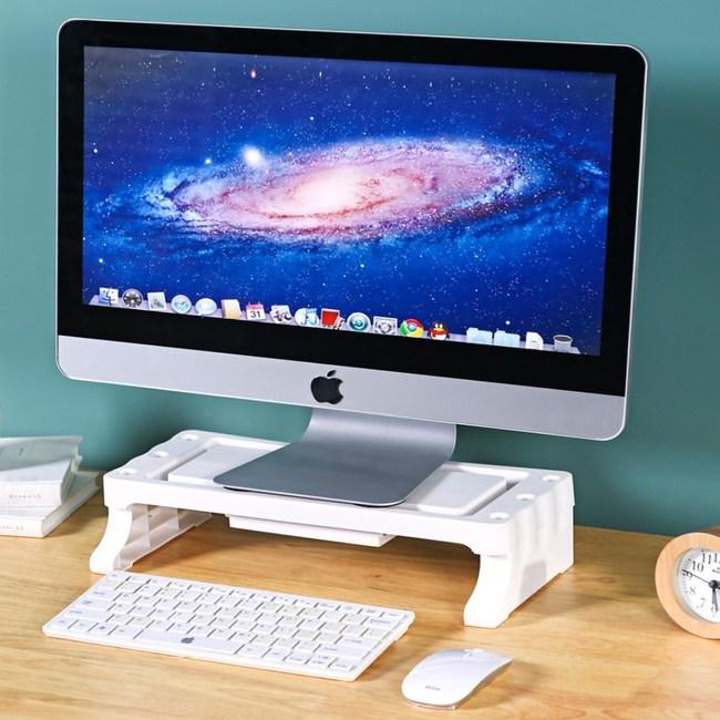 【AOTTO】多功能桌面收納架 螢幕增高架螢幕增高架
