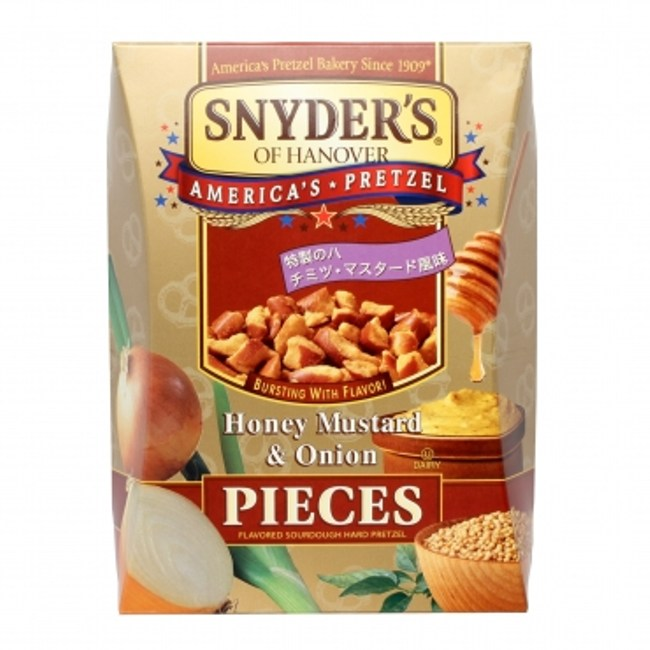 SNYDER'S 蝴蝶餅蜂蜜芥末 250g