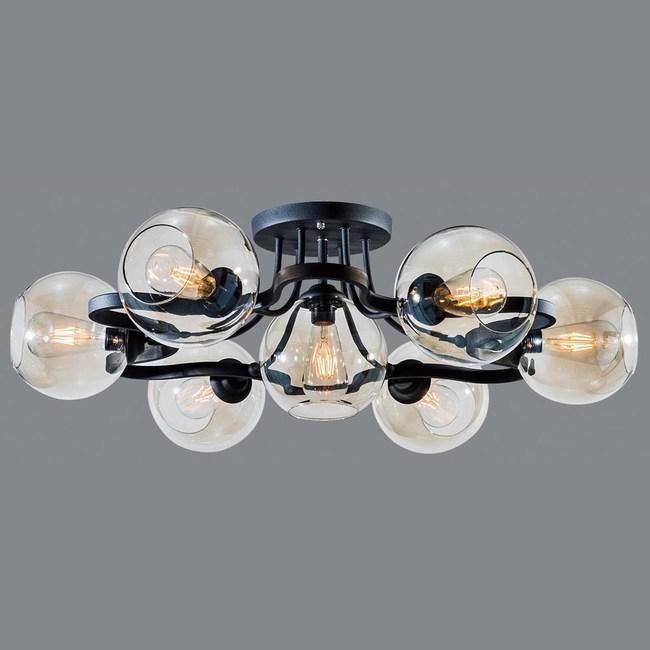 HONEY COMB 工業風半吸頂六燈BL90591
