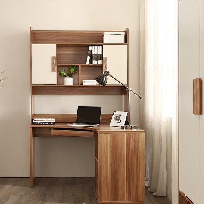 林氏木業現代簡約小戶型轉角書桌電腦桌CP1V