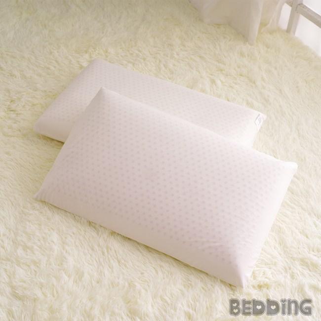 BEDDING-100%純天然蜂巢氣孔平面乳膠枕 一入