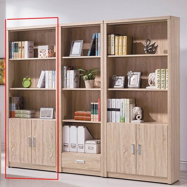 【obis】橡木色2.6尺X6尺書櫥(橡木色 2.6尺 書櫥)橡木色
