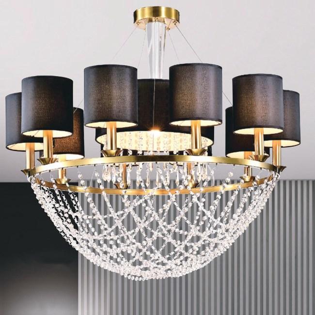 【大巨光】華麗風水晶燈_吊燈-大(LW-09-0031)