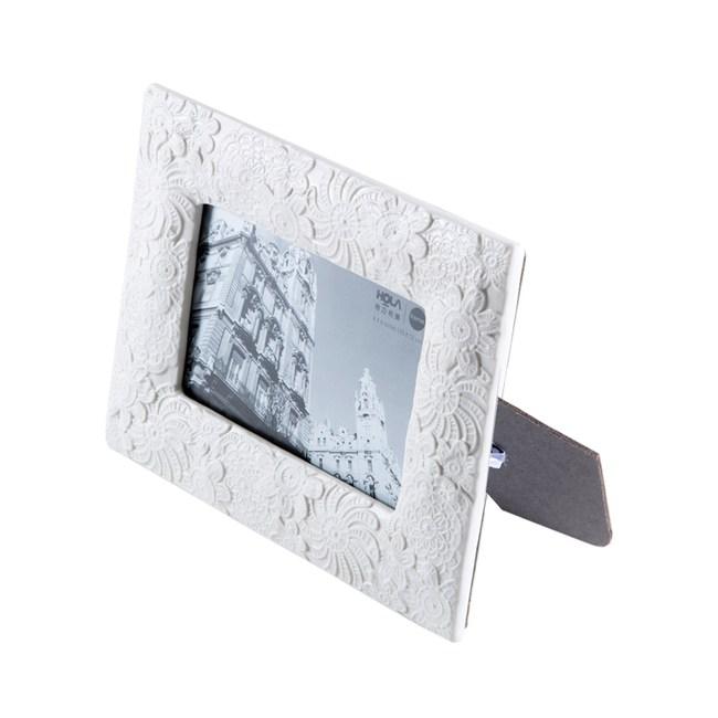 約瑟夫綻放陶瓷相框 4X6