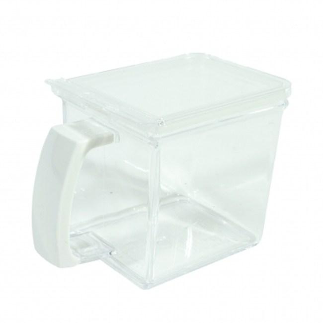 ASVEL福爾瑪小容量調味盒480ml 白色