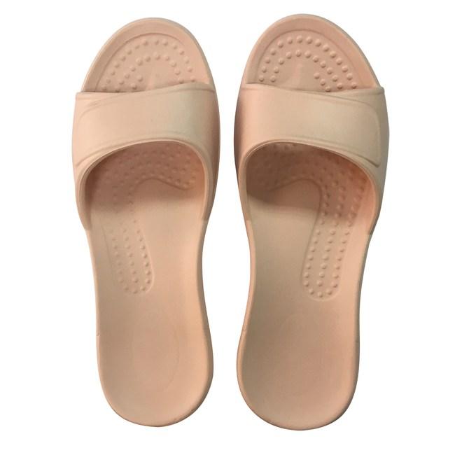 HOLA EVA柔軟室內拖鞋 粉橘S