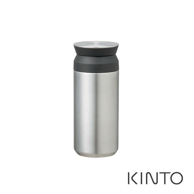 日本KINTO 隨行保溫瓶350ml-不銹鋼色