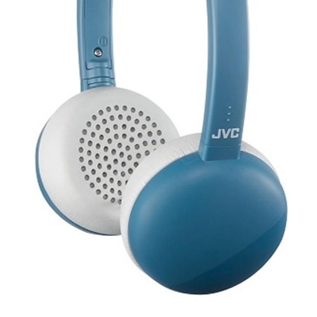 【送收納袋】JVC HA-S28BT 藍色 無線藍牙高音質耳罩式耳機