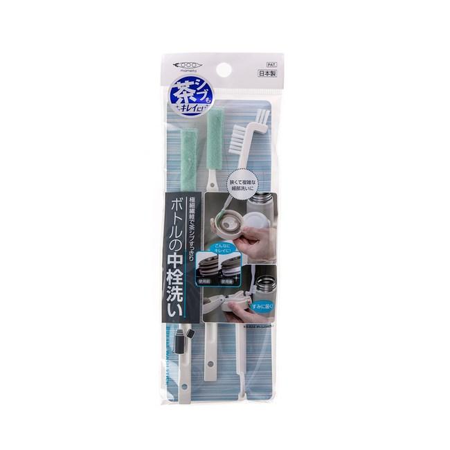日本MAMEITA瓶栓間隙清洗刷具組(3支入/KB-824)
