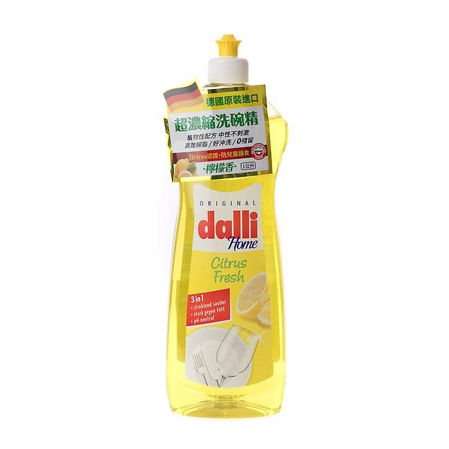 德國Dalli濃縮高效洗碗精檸檬香1L