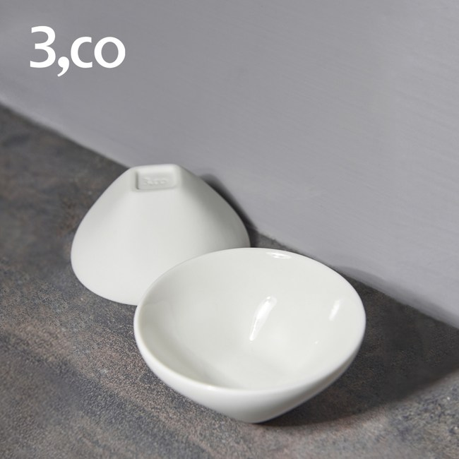 【3,co】輕瓷方圓小杯(2件組)
