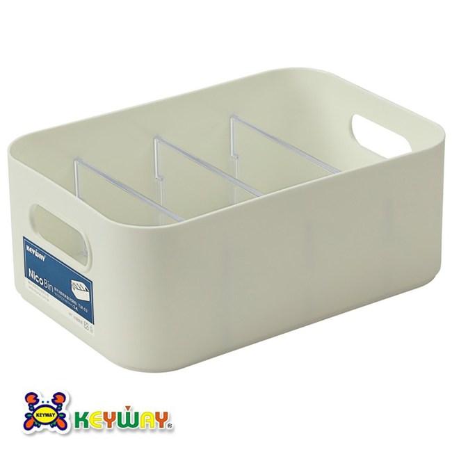 KEYWAY 你可3號收納盒 附隔板 2.4L TLR-03 Nico Bin