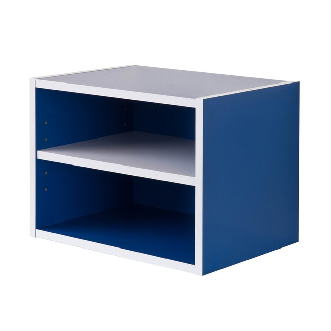 【TZUMii】艾莉絲二格櫃-藍色