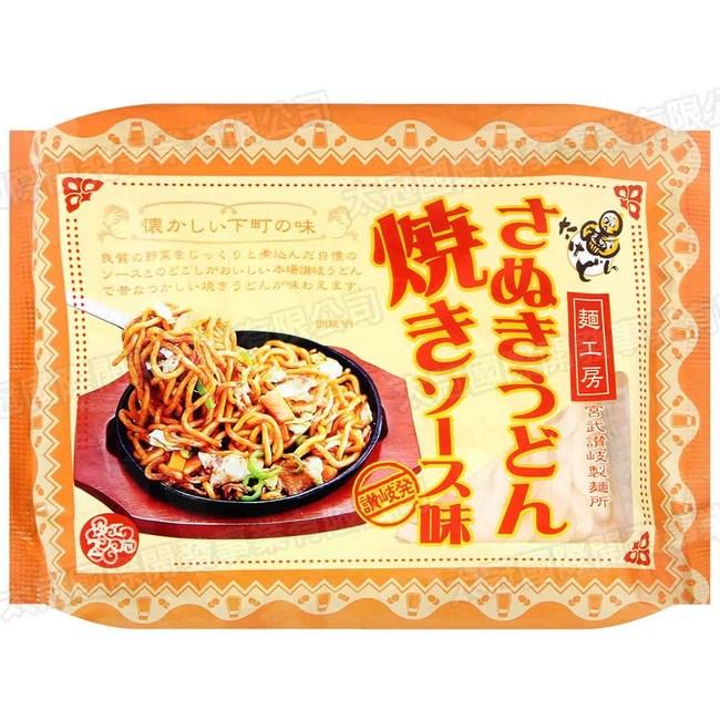 日本宮武讚岐炒烏龍麵附醬包2食