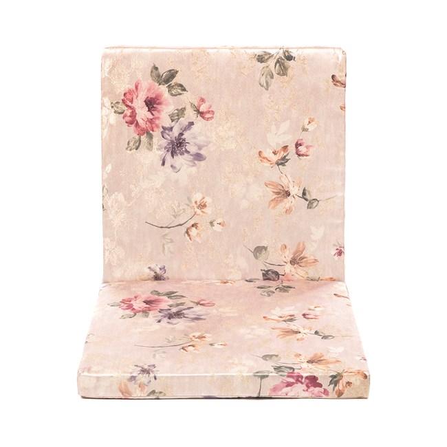 花漾坐靠兩用厚坐墊50x105cm粉