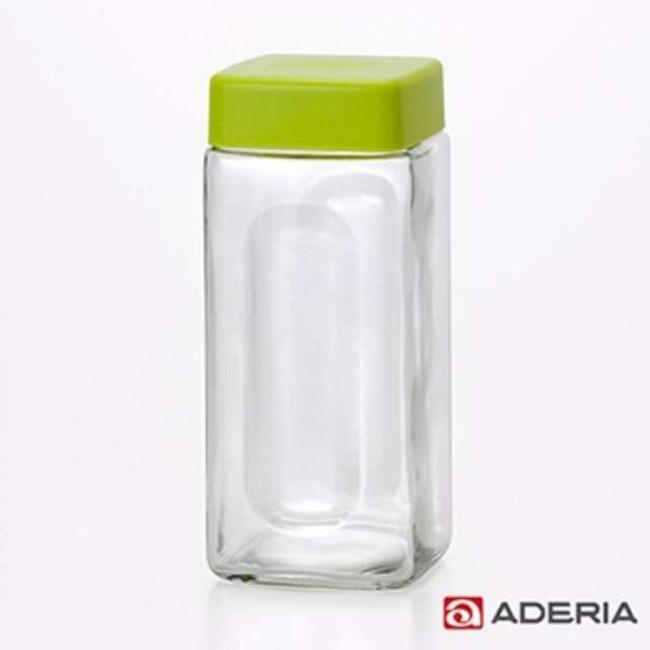 【ADERIA】日本進口玻璃醃漬瓶900ml(綠)