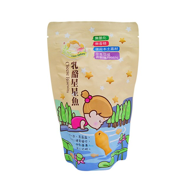 lovenature乳酪星星魚140g