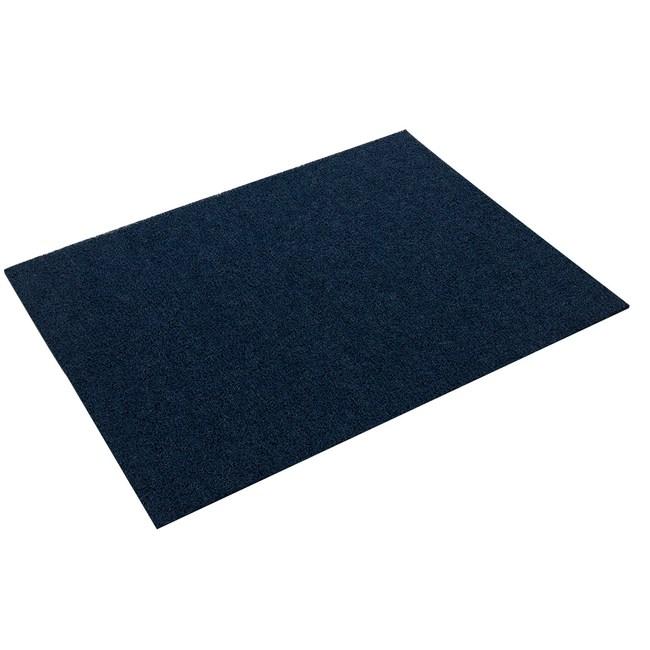 炫風60x90cm單色圈止滑地墊紅藍(混款)
