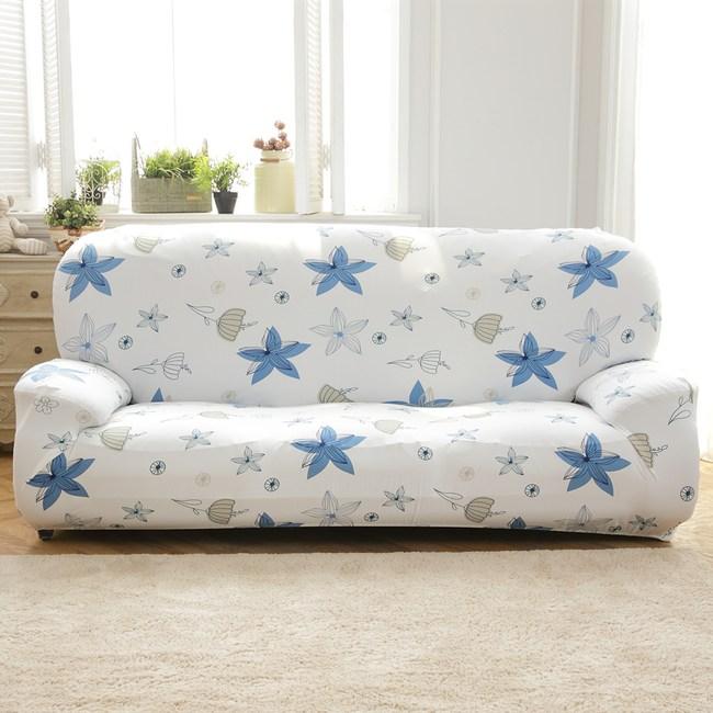 【歐卓拉】香草天空彈性沙發套-3人