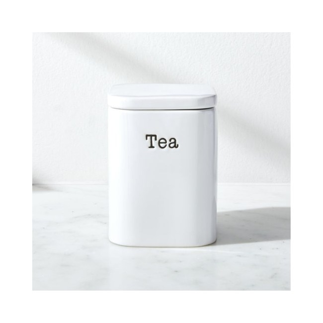 Crate&Barrel Tea 茶葉收納罐