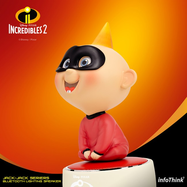 InfoThink 迪士尼Jack-Jack玩音樂藍牙燈光喇叭