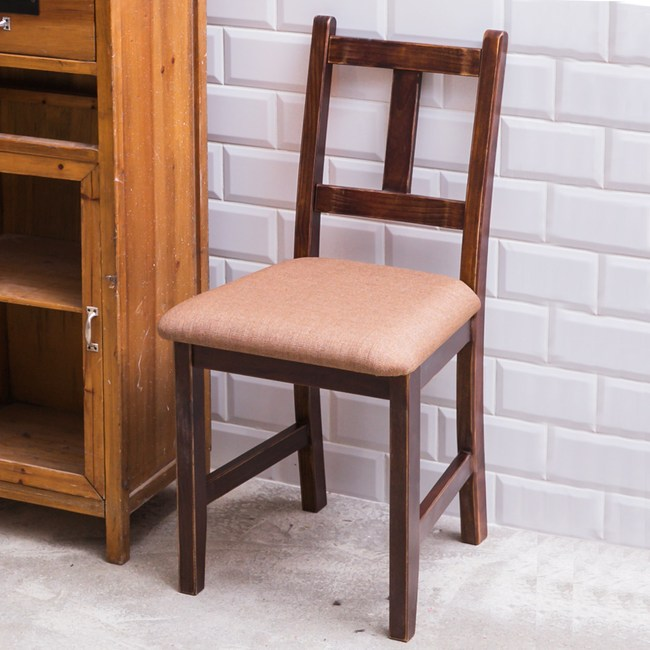 CiS 自然行 南法原木椅 咖啡胡桃色 (深咖啡椅墊)