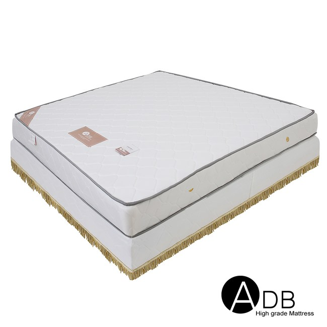 【ADB】克里昂軟硬二用舒眠獨立筒床墊/雙人5尺