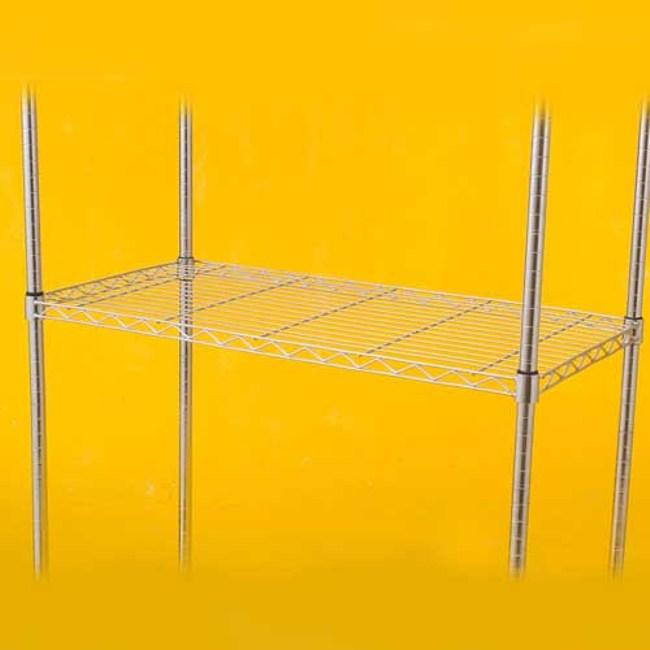 特力屋 PRO特選 鍍鉻波浪架鐵網 輕型 35x90cm