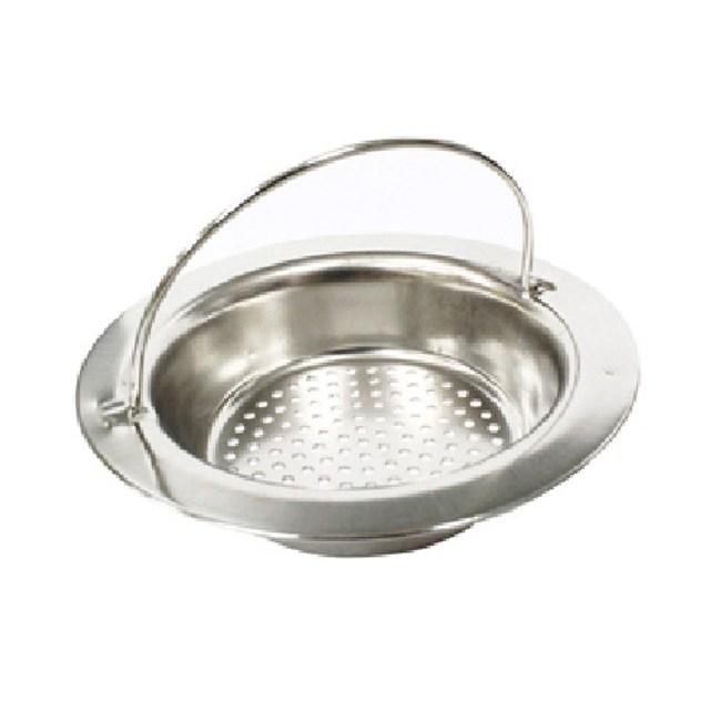 【PUSH!廚房用品】提籃式不鏽鋼流理台水槽濾網一入(HD1011) D37